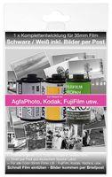 Foto Entwicklung per Post - für Kleinbild Schwarz/Weiß Negativ Film bis zu 36 Bilder 10x15 cm Postkartengröße