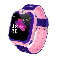 Kinder Smart Watch mit GPS Tracker 1,54 Zoll Touchscreen SOS Call Game Voice Chat Kamera IP65 Wasserdichte Armbanduhr für Jungen Mädchen Geschenke
