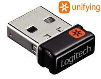 Logitech Unifying Receiver - Wireless Maus- / Tastaturempfänger - USB - für Logitech M325, M505, M510, M515, M705, M905, Performance MX - Logitech - 993-000439 - 5099206025165