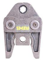 REMS Pressbacke V oder M 12 15 18 22 28 35 42 54 Presszange für Akku Press Power, Größe:28, Ausführung:V