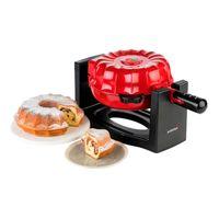 Korona 41060 Cake Maker Kuchenbäcker rot / schwarz, Farbe:Rot