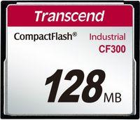 Transcend 128MB CF300 Memory Card 0 125 GB Compact Flash SLC