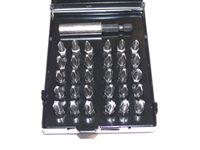 Bitset 31-teilig , Kreuz PZ und PH , + Bithalter , S2-Stahl