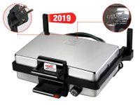 Silex 610 15004 Multigrill Jumbo Kontaktgrill, Edelstahlgehäuse, 2000 Watt, Thermostat