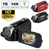 "2,7"" TFT LCD HD 1080P 16MP 16X Digital Zoom Camcorder Video DV Kamera Rot"