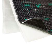 Alubutyl Schalldämmung Schalldämmmatten Set für 2 Türen Anti Dröhn Vibration Dämmmatte Auto Boot selbstklebend