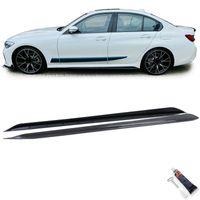 Seitenschweller Sport Optik Carbon Look für BMW 3er G20 Limousine ab 18