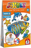 Schmidt Spiele 46117 Jixelz, Unterwasserwelt, 1500 Teile, 5 Motive, Kinder-Bastelsets, Kinderpuzzle