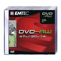 Emtec DVD-RW 4.7GB 5er Pack DVD-RW, 4,7 GB, 120 min