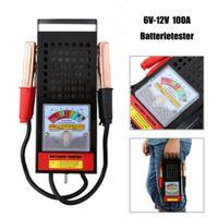 6V-12V 100Amp Auto Van Batterietester Load Drop Charging System Analyzer Checker