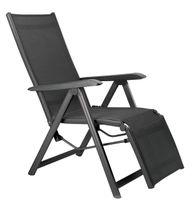 Kettler Basic Plus Relaxsessel H 111 x B 90 x T 61 cm, Farbe Anthrazit