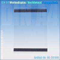 DIN A4 Werbedisplay für Beschilderung (magnetisch)