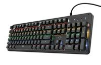 Trust GXT 863 Mazz Gaming-Tastatur USB mechanisch Anti-Ghosting Beleuchtung