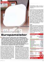 PremiumX FLAT43 Sat Flachantenne Single LNB - Satellitenanlage für 1 Teilnehmer - 4K UHD FullHD
