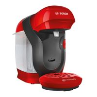 Bosch TAS1102 Tassimo Style, Farbe:Rot