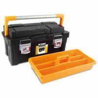 Ironside 100-658 Werkzeugkasten Pro plus 550 x 300 x 275 mm, schwarz