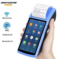 Android PDA NFC POS Empfangsrechnung Thermal Wifi Bluetooth Mobiler Drucker 58mm Wireless Handheld Terminal PDA Kamera Mobile Geräte