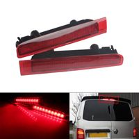 2 Stk LED Dritte Bremsleuchte Bremslicht Lampen für VW T5 Transporter Caravelle Rot 2003+