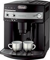 Delonghi ESAM 3000 B Magnifica II Kaffeevollautomat, Espressomaschine, Kunststoff, Tassenwärmer, Integriertes Mahlwerk, Milchaufschäumer
