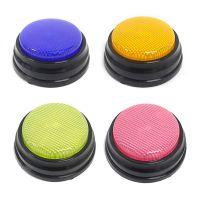 Aufnahmefaehige Sprechtaste mit LED-Lernressourcen Antwortsummer Orange + Blau + Gruen + Pink