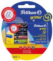 Pelikan griffix Tintenpatronen auf Blisterkarte (10 Patronen)