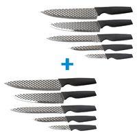 Harry Blackstone Airblade 10-teiliges Messerset Küchenmesser Universalmesser Küche scharfe Messer | Das Original von Mediashop