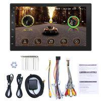 7 Zoll Auto MP5 Player Doppel Din 2 Din Autoradio BT WiFi Touchscreen Monitor FM Autoradio mit GPS Navigation