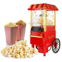 Popcornmaschine - für Familienfeiern, Kinder im Freien | Rot Wagen  Retro