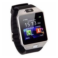 Touchscreen Smartwatch DZ09 mit SIM Support Kamera Mikrofon Freisprechen MicroSD