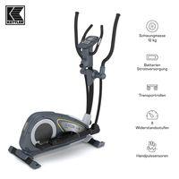 KETTLER® Crosstrainer Nova M | 12 kg Schwungmasse | 8 Widerstandsstufen | Magnetbremssystem | Transportrollen | Hohe Gewichtsbelastung von 110kg | Handpulssensoren