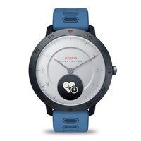 """Zeblaze HYBRID Smart Watch 0,49"""" OLED-Bildschirm Armbanduhr BT4.0 Herzfrequenz Blutdruck Schlaftracking Smart Timer Echtzeit-Wettertemperatur Abnehmbarer Gurt Alarm Outdoor-Sport 5ATM Wasserdichte Herren-Smartwatch fuer iOS / Android"""