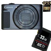 1A PHOTO PORST 1A PHOTO PORST Canon Powershot SX620 HS schwarz + 32 GB SD Karte 500 g