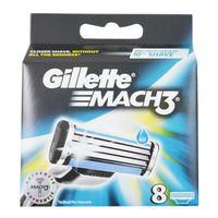 Gillette Mach3 Rasierklingen, 8er Pack