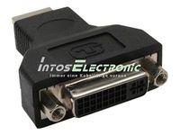 InLine® HDMI-DVI Adapter, HDMI Stecker auf DVI Buchse