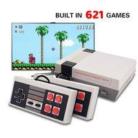Handheld Retro Video Spiel Konsole, Mini spielkonsole Gebaut-in Klassische 621 Verschiedene spiele für TV HDMI Ausgang
