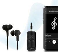 LogiLink Bluetooth 5.0 Audio Receiver schwarz