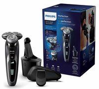 Philips S9531/26 Elektrischer Nass-und Trockenrasierer Series 9000 mit V-Track-Pro-Klingen