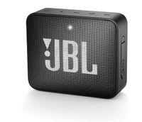 JBL GO 2 Bluetooth-Lautsprecher Musikbox (Wasserfester, portabler Bluetooth-Lautsprecher mit Freisprechfunktion, bis zu 5 Stunden Musikgenuss mit einer Akku-Ladung) schwarz