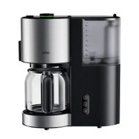 Braun KF 5120 BK, Kombi-Kaffeemaschine, 1,2 l, 1000 W, Schwarz