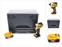 DeWalt DCF 809 ND Akku Schlagschrauber 18 V 190 Nm 1/4' Brushless + 1x Akku 5,0 Ah + D-Box - ohne Ladegerät