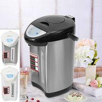 5,8Liter Wasserkocher Warmwasserkessel Elektro Heißwasserspender Teekocher Spender Warmwasserverteiler 750W (Schwarz)