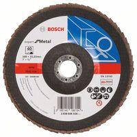 Bosch Fächerschleifscheibe X551, Expert for Metal 2608606936