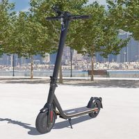 Elektro Scooter mit Straßenzulassung ABE E-Scooter Aluminium Elektroroller eKFV Zulassung Faltbar Roller EScooter - schwarz