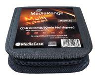 25 MediaRange Rohlinge MediaCase CD-R 800MB 90min