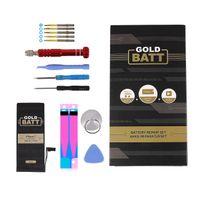 Goldbatt Akku für Apple iPhone 7 mit Werkzeug Reparatur Set + Anleitung Premium Batterie