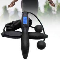 Springseile Fitness Zähler Digitale Drahtlose Seilspringen mit Kalorienzähler für Training und Fitness