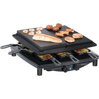Steba RC4 Plus Deluxe Raclette Chrom