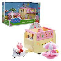 Eiswagen | Spielset | Peppa Wutz | Peppa Pig | Eiscreme-Wagen mit Figur Peppa