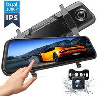 """VanTop H609 Dashcam Rückspiegel, FHD 1080P Dashcam Auto vorne hinten, mit 10""""IPS Voll Touchscreen, 170° Weitwinkel, Nachtsicht mit STARVIS Sensor, Parkmonitor, Loop-Aufnahme, Einparkhilfe, G-Sensor"""