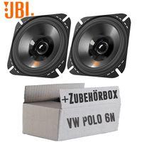 Lautsprecher Boxen JBL Stage2 424 | 2-Wege | 10cm Koax Auto Einbauzubehör - Einbauset für VW Polo 6N - justSOUND